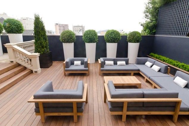 Decora la terraza a tu gusto